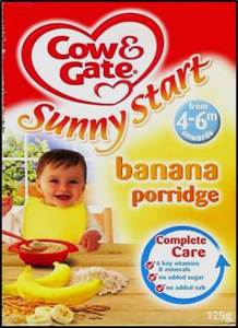 Inappropriate labeling: The label for this commercially-produced complementary food indicates that it is appropriate for 4 to 6-months olds, despite international guidelines recommending 6 months as the right age to first introduce complementary foods.